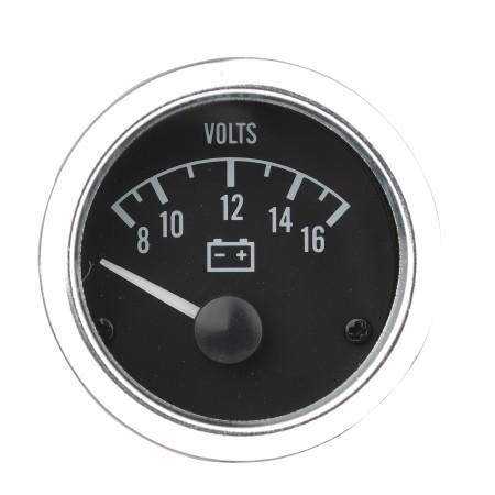 Voltmeteranzeigeinstrument_Weiß