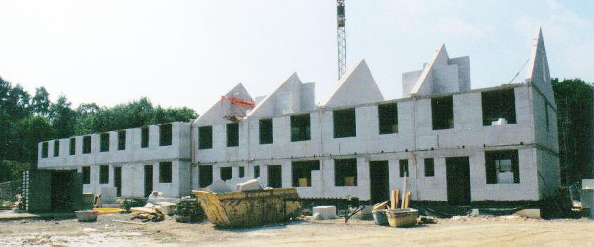 Errichtung von reihenh usern imbako for Hotel wuppertal barmen