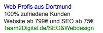 Google AdWords Qualitaetsfaktor